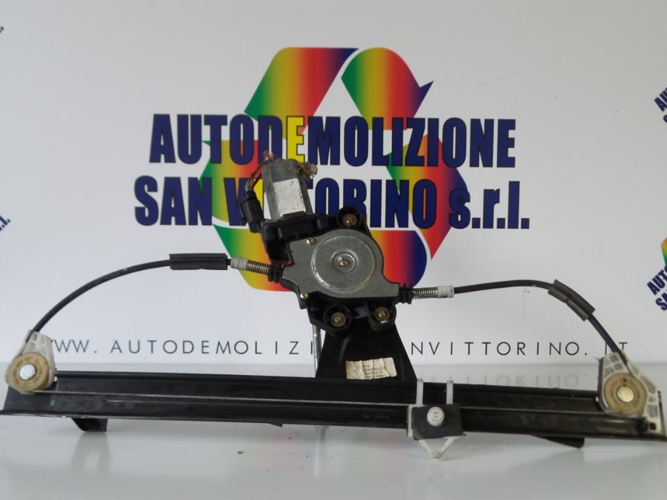 ALZACRISTALLO ELETTR. PORTA ANT. CON MOTORINO SX. FIAT DOBLO CARGO (3C) (07/05>12/11