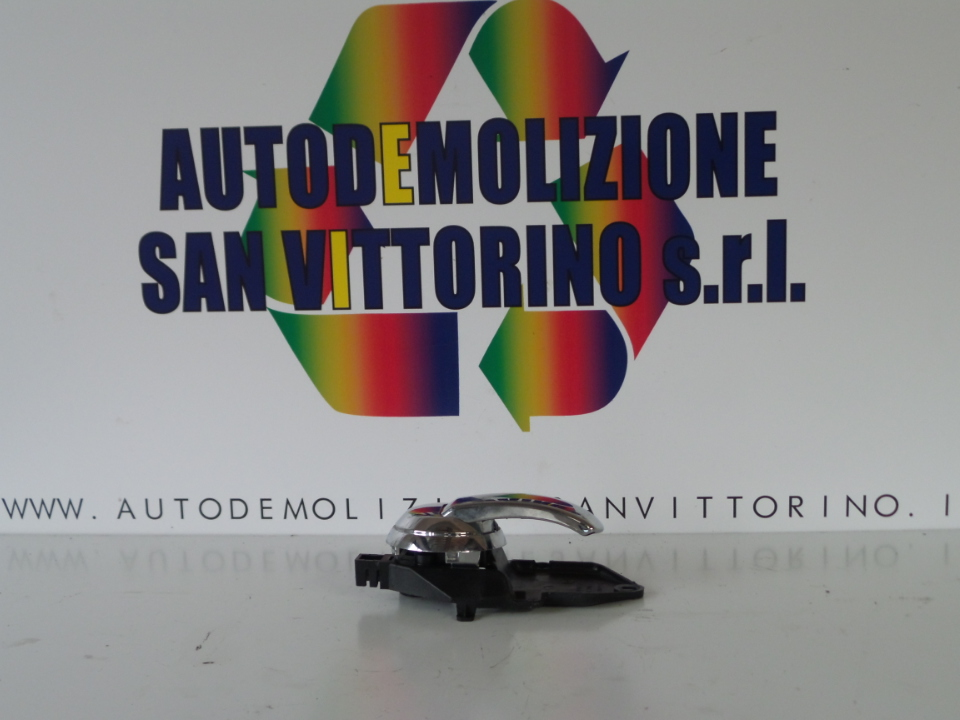 MANIGLIA INT. APERTURA PORTA ANT. SX. FIAT 500 (3P) (07/07>)