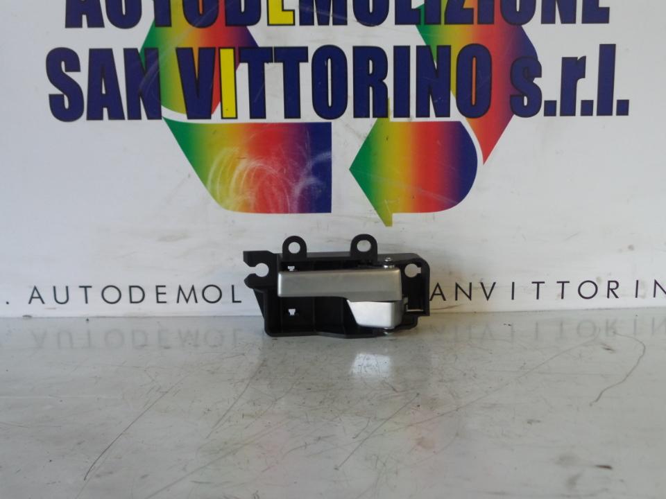 MANIGLIA INT. APERTURA PORTA ANT. ALLUMINIO SX. FORD FOCUS (CAP) (11/04>06/08<)