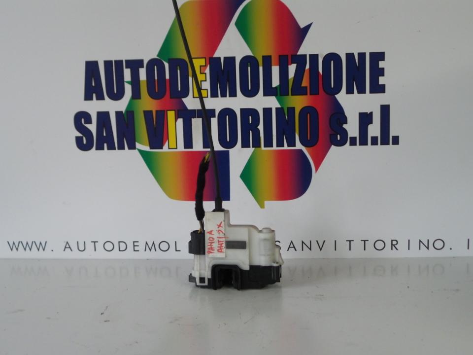 SERRATURA PORTA ANT. BLOCCAGGIO ELET SX. FIAT PANDA (2Q) (09/03>09/09<)