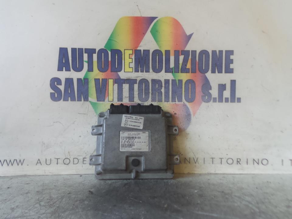 CENTRALINA INIEZIONE IMPIANTO GAS FIAT PANDA (2Q) (09/03>12/10