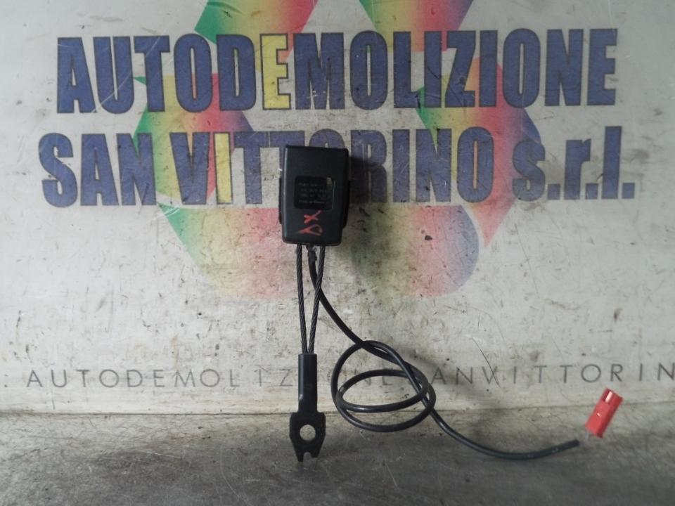AGGANCIO CINTURA DI SICUREZZA ANT. DX. MERCEDES-BENZ CLASSE A (W/C169) (07/04>04/13
