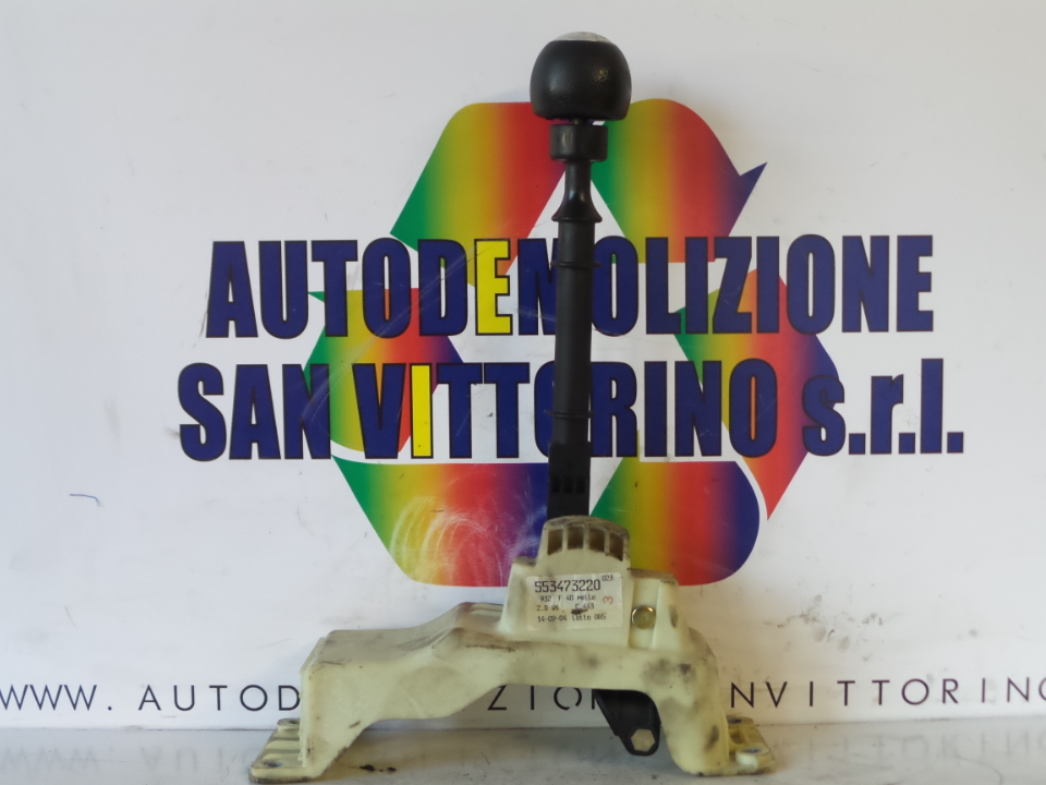 LEVA CAMBIO COMPL. VOL.+POM.PELLE ALFA ROMEO 156 (X1) (06/03>01/06<)