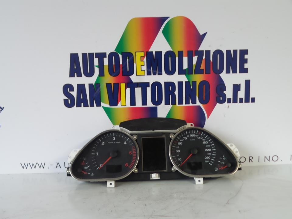 QUADRO PORTASTRUMENTI AUDI A6 (4F) (03/04>06/09<)