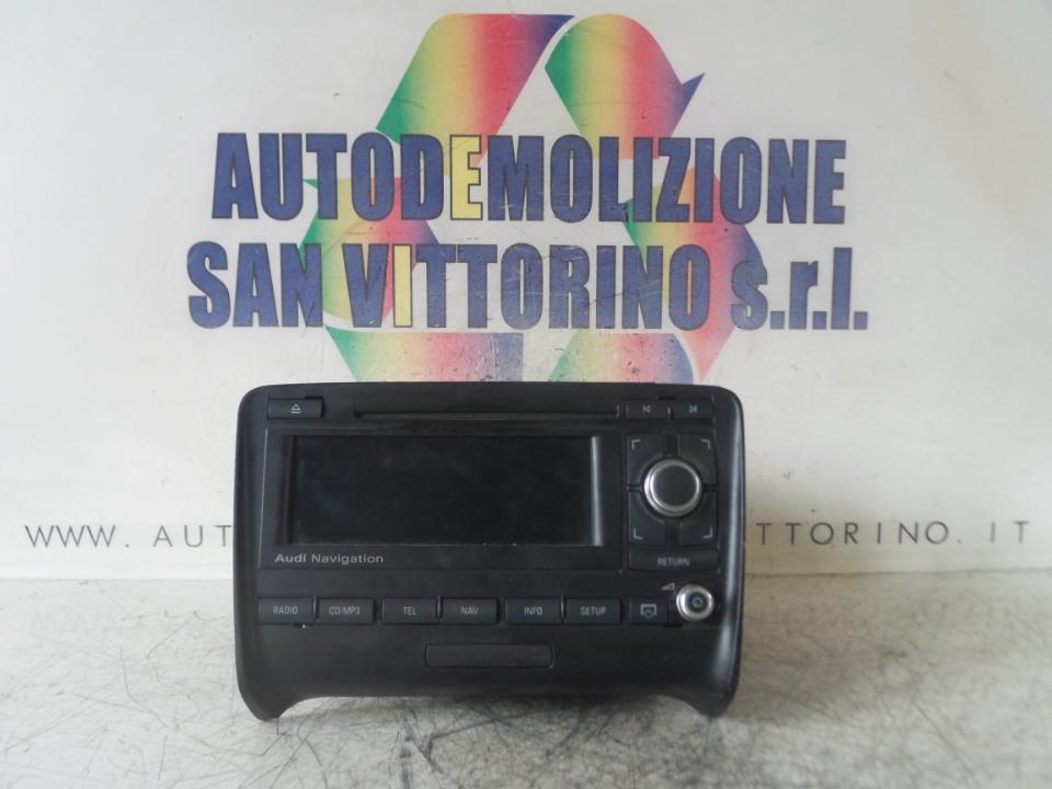 AUTORADIO AUDI TT (8J) (07/06>)