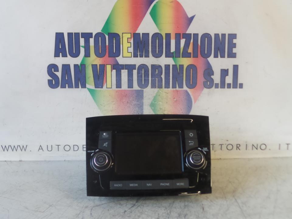 AUTORADIO C/ CD C/MP3, START/STOP FIAT DOBLO (3V) (11/09>)