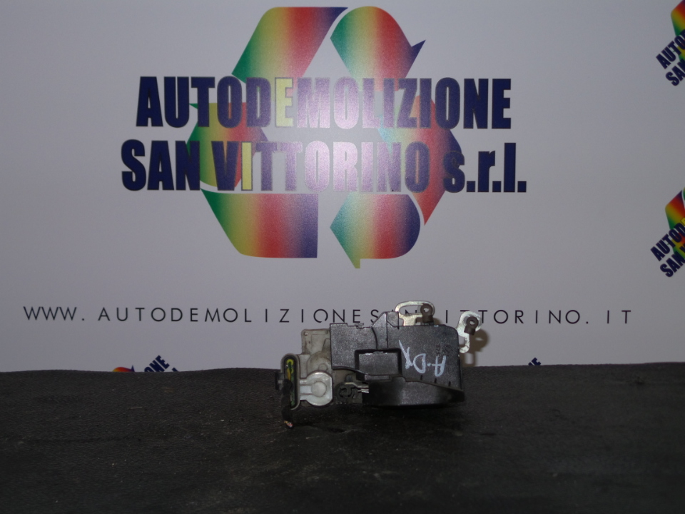 SERRATURA CHIUSURA C.ZTA PORTA ANT. DX. ALFA ROMEO 147 (W8) (08/00>01/06<)