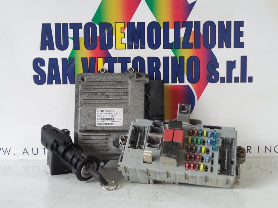 CENTRALINA INIEZIONE FIAT DOBLO CARGO (2W) (12/03>12/06