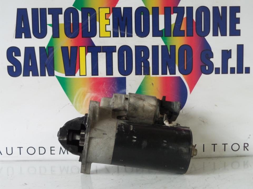 MOTORINO AVVIAMENTO BOSCH FIAT PUNTO (1N/1P) (07/99>06/03<)