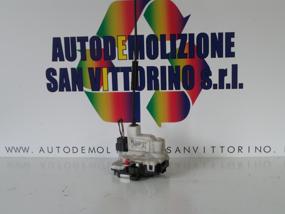 SERRATURA PORTA ANT. DX. FIAT 500 (3P) (07/07>)