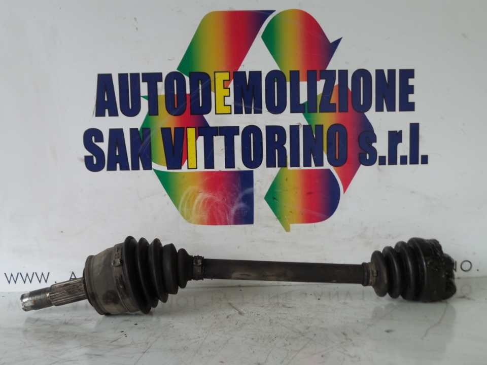 SEMIALBERO ANT. COMPL. SX. FIAT 500 (3P) (07/07>)